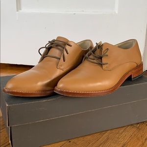 Nisolo James Oxfords - Almond